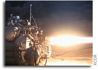 XCOR Aerospace Completes Successful First Test Fire of Engine for Lynx Suborbital Launch Vehicle