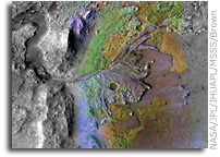 New Findings Show Diverse, Wet Environments on Ancient Mars