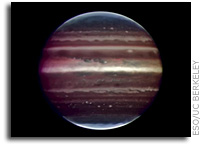 Next-generation adaptive optics produces sharper Jupiter images