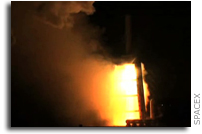SpaceX Successfully Conducts Full Mission-Length Firing of its Falcon 9 Launch Vehicle (with video)