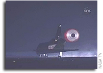 Space Shuttle Endeavour Lands at Kennedy Space Center Ending STS-123 Mission