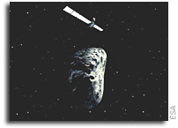 Rosetta awakes from hibernation for asteroid encounter