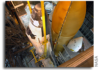 NASA's Space Shuttle Discovery Ready for Final Assembly and Checkout
