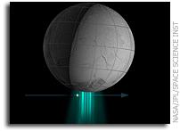 NASA Cassini Spacecraft Tastes Organic Material at Saturn's Geyser Moon
