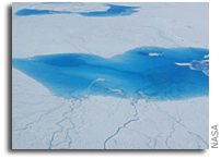 Researchers warm up to melt's role in Greenland ice loss