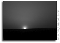 NASA Mars Phoenix Mission: Ice Cold Sunrise on Mars