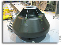 NASA Team Builds Composite Space Capsule with Future in Mind