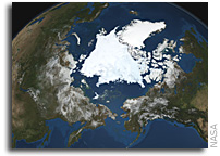 Arctic Sea Ice Reaches Lowest Coverage For 2008