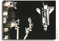STS-126 Arrives at the International Space Station