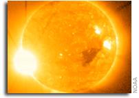 Solar Flare Surprise