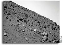 NASA Mars Rover Update: Spirit Continues Work on Winter Panorama