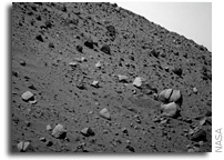 NASA Mars Rover Spirit Update: Light Duty for Now