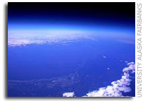 Alaska Space Grant program High altitude balloon exceeds 18 vertical miles during flight