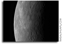 MESSENGER Instruments Take Aim at Mercury