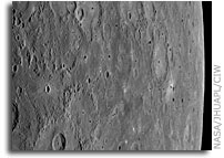 NASA MESSENGER: New Images Reveal Views after Closest Approach, First Mercury Laser Altimeter Results