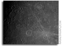 MESSENGER's First Look at Mercury's Previously Unseen Side