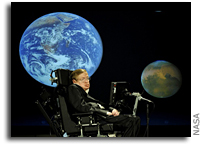 Stephen Hawking Sending DNA into Space to Promote the Archon X PRIZE for Genomics