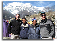 Scott Parazynski Everest Update: Day 8 - March 30, 2008 - Namche Bazar, Nepal