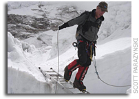 Scott Parazynski Everest Update: 15 May 2008 - Photos of the Khumbu Icefall