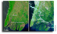NASA Earth Observatory Imagery: Cyclone Nargis Floods Myanmar (Burma)