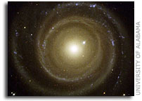 UA Astronomers on Team Describing New Evidence of 'Inconvenient' Galaxy