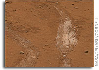 Foot-Dragging Mars Rover Finds Yellowstone-Like Hot Spring Deposits