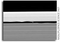 NASA Cassini Image: Among the Waves