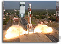 Final Countdown for India's PSLV Launch Began on Wednesday