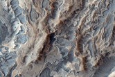 Valleys in Melas Chasma