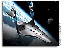 Virgin Galactic Unveils Spaceship Designs