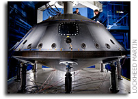 Lockheed Martin Delivers Mars Science Laboratory Backshell To NASA's Jet Propulsion Laboratory