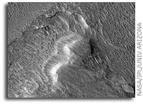 Evidence for Rain on Mars?
