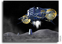 NASA Awards Contracts for Design Study of Lunar Landing Craft