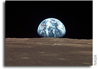 Earthrise From Apollo 11