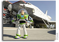 Disney's Buzz Lightyear Travels to the International Space Station Aboard STS-124