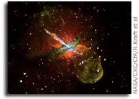 Jet Power and Black Hole Assortment Revealed in New Chandra Image