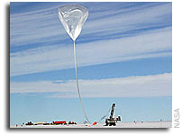 NASA Scientific Balloons Achieve Antarctic Flight Record