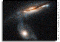 Study of 'GEMS' from Hubble, Spitzer Space Telescopes Reveals Cosmic Fireworks Fizzled Out at Universe Reached Mid-Life