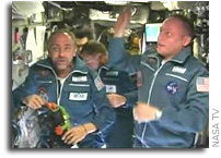 Private Astronaut Richard Garriott, Arrives At International Space Station