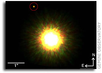 First Picture of Likely Planet around a Sun-like Star