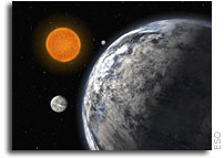A Trio of Super Earths Discovered