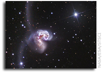 The Antennae Galaxies move closer