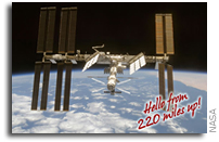 Space Station Crew Exchanges Seasons Greetings with Earth