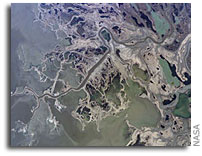 International Space Station Imagery: Saskatchewan River Delta, Manitoba, Canada