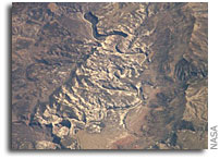 NASA International Space Station Imagery: Dinosaur National Monument
