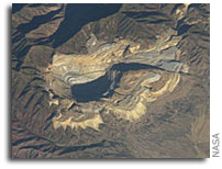 ISS Imagery: Bingham Canyon Mine, Utah