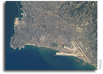 International Space Station Imagery: Beirut Metropolitan Area, Lebanon
