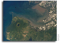 NASA International Space Station Imagery: Cosiguina Volcano, Nicaragua