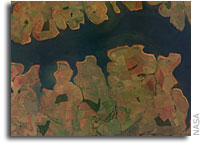 NASA ISS Imagery: Sao Simao Reservoir, Brazil