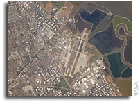 Space Station Imagery: NASA Ames Research Center, Moffett Field, CA